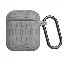 Carcasa antimicrobiana UAG U Silicone Apple AirPods Grey