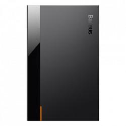 Carcasa/Rack Baseus HDD extern HDD carcasă SSD SATA 2,5 '' USB 3.2 Gen 1 (5 Gbps) USB Typ C + cablu negru (CAYPH-B01)