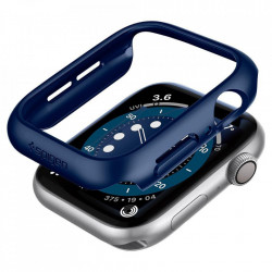 Carcasa SPIGEN THIN FIT pentru APPLE WATCH 4/5/6 / SE (40MM) ALBASTRU METALIC