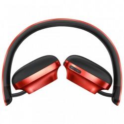 Casti audio bluetooth, Baseus Encok D01, Bluetooth 4.2 , 300 mAh, rosu