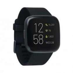 Ceas smartwatch Fitbit Versa 2, NFC, Black/Carbon