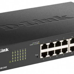 DLINK SW 16P-GB EASY-SMART DESK/RM