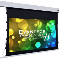 Ecran proiectie electric, 265.7 x 149 cm, incastrabil in tavan, Tensionat, EliteScreens Evanesce Tab-Tension B, 16:9