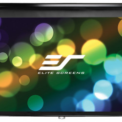 Ecran proiectie manual, perete/tavan, 186 x 104.6 cm, EliteScreens M84UWH, Format 16:9