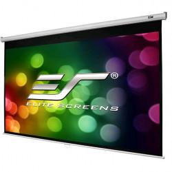 Ecran proiectie manual, perete/tavan, 265,6 X 149,3 cm, Elitescreens M120XWH2-E24 , Format 16:9, 60 cm black drop