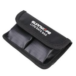 Geantă de protecție pentru 2 baterii LiPo Sunnylife pentru DJI Osmo Action