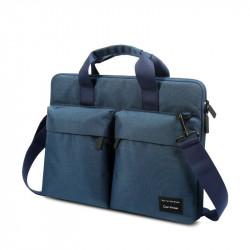 Geanta laptop cu Anti RFID , Cartinoe 13,3'' albastru