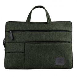 """Geanta UNIQ Cavalier pentru laptop 15"""" - verde"""