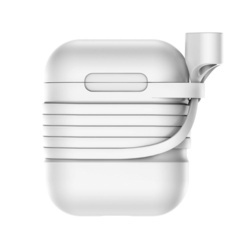 Husa + curea pentru Apple AirPods, Baseus, cu suport magnetic si slot pentru incarcare