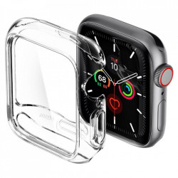 Husa ecran Spigen Ultra Hybrid pentru Apple Watch 4/5 (44mm) Crystal Clear