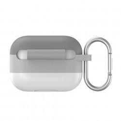 Husa pentru Apple Airpods PRO , Baseus, gri