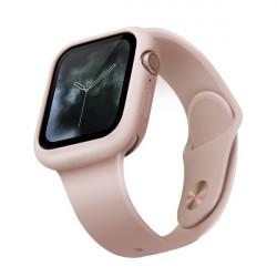 Husa protectoare UNIQ Lino pentru Apple Watch 5/4 44mm - roz