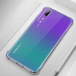 Husa telefon cu margini intarite MSV pentru Huawei P20 Lite transparenta