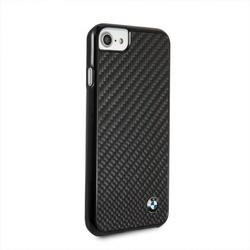 Husa telefon din fibra de carbon , tip bumper , Bmw pentru Apple iPhone 7/8 , neagra