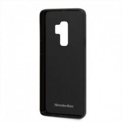 HUSA TELEFON SAMUNG GALAXY S9 PLUS G965, MERCEDES, FIBRA DE CARBON, NEGRU