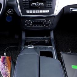 Incarcator auto 2x USB QC 3.0 45W Baseus Magic , negru
