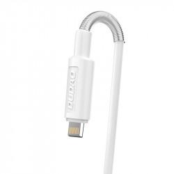 Incarcator DUDAO 2x USB 5V/2.4A + cablu lightning, 1m