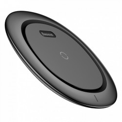 INCARCATOR TELEFON WIRELESS, BASEUS UFO, FAST CHARGE, 9 V, NEGRU