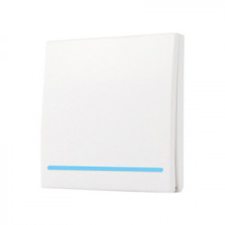 Intrerupator de perete RF fara fir SmartWise RF1 cu 1 banda
