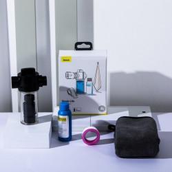 Kit aditional spalare auto Baseus, recipient pentru lichid, laveta, sticluta cu sampon, banda de etansare