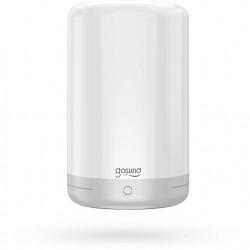 Lampa de veghe smart compatibila cu sistemele Amazon Alexa si Google Assistant,lumina alba + RGB, Gosund Nitebird LB3