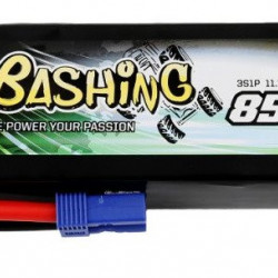LiPo Gens Ace Bashing 8500mAh 11.1V 50 / 100C EC5 baterie