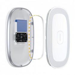 Lumina LED Auto magnetic Baseus - alb