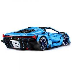 Masina de jucarie Double Eagle C61041W (Lamborghini Centenario) cu blocuri lego