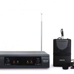 Microfon Wireless dublu de mana + Lavaliera Fonestar MSH-209