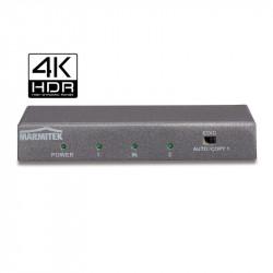 Multiplicator Splitter HDMI Marmitek 612 UHD 2.0 cu 4K60 (4:4:4), suport UHD – 1in/2out