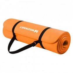 Saltea fitness antiderapanta 181 cm x 63 cm x 1 cm portocaliu (WNSP-orange)