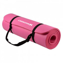 Saltea fitness antiderapanta 181 cm x 63 cm x 1 cm roz (WNSP-PINK)