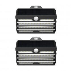 Set 2 x lampa de perete cu LED, Baseus DGNEN-D01 cu senzor de noapte si miscare