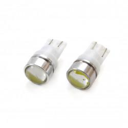 Set 2 x LED STANDARD T10 W5W 3xCOB HP 1,5W 12V Lens