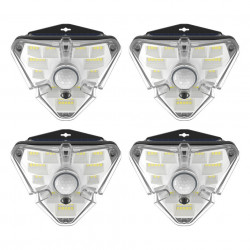 Set 4 lampi solare Baseus de gradina cu senzor de miscare