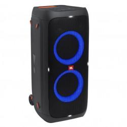 Sistem audio portabil JBL Partybox 310, Bluetooth, USB, IPX4, Pro Sound, Sound effects, Karaoke, 18H, Negru