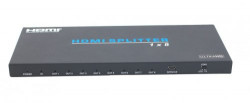 Spitter HDMI 2.0b cu 8 porturi EVOCONNECT HDV-B18IH, 18Gbps, 4K@60Hz