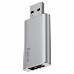 Stick memorie Baseus pendrive 32 GB cu port USB de incarcare, silver (ACUP-B0A)