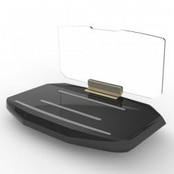 Suport auto telefon tip Head Up Display pentru aplicatii GPS sau multimedia