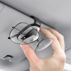Suport ochelari auto cu celma de fixare Baseus - gri
