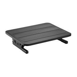 Suport picioare birou ergonomic, Blackmount FR-09, suprafata texturata