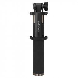 Suport Selfie Stick Wireless Spigen Aluminum Monopod - S530W - negru