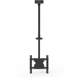 "Suport tv tavan LCD/LED Single 3000 Multibrackets 5460,32-55"",negru,inaltime regl. 860-3130mm,incl. vert.:-5º- +15º,70kg"