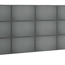 Suport VideoWALL Vogel's 4x3 cu fixare pe perete