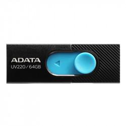 USB UV220 64GB BLACK/BLUE RETAIL