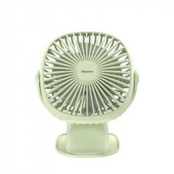 Ventilator de birou cu acumulator , Baseus - verde