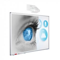 Whiteboard Magnetic Ceramic SMIT 120x214 cm (16:9)