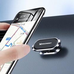 Wozinsky Suport magnetic universal cu prindere pe bordul masinii gri
