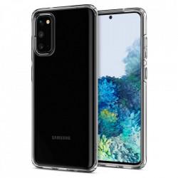 Husa Spigen Liquid Crystal Samsung Galaxy S20 - transparent
