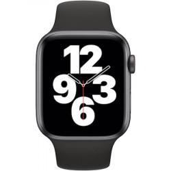 Apple Watch SE, GPS, Cellular, Carcasa Space Gray Aluminium 44mm, Black Sport Band